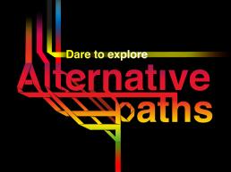 TEDx LadbrokeGrove_Attend alternative paths